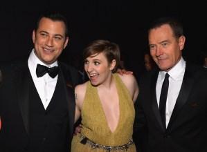 Jimmy Kimmel, Lena Dunham & Bryan Cranston