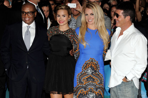 "Premiere Of Fox's ""The X Factor"" Season 2"