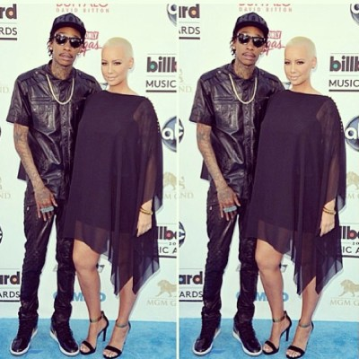 Amber Rose & Wiz Khalifa at Billboard Music Awards