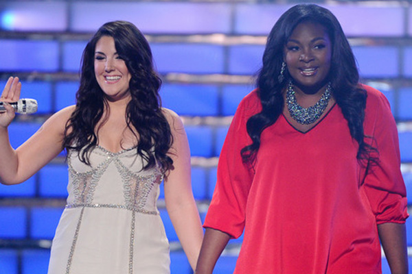 Kree Harrison & Candice Glover at 'American Idol' Finale