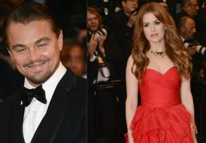 Leonardo DiCaprio & Isla Fisher at Cannes Film Festival