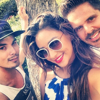 Shay Mitchell & Tyler Blackburn Memorial Day