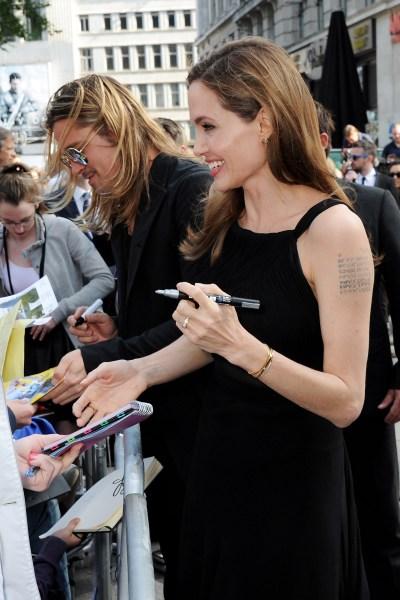 Brad Pitt and Angelina Jolie 'World War Z'