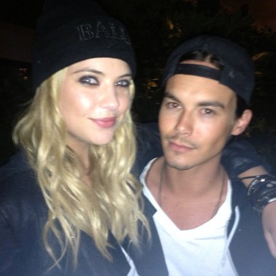 Ashley Benson & Tyler Blackburn