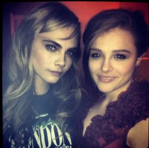 Cara Delevingne & Chloe Moretz