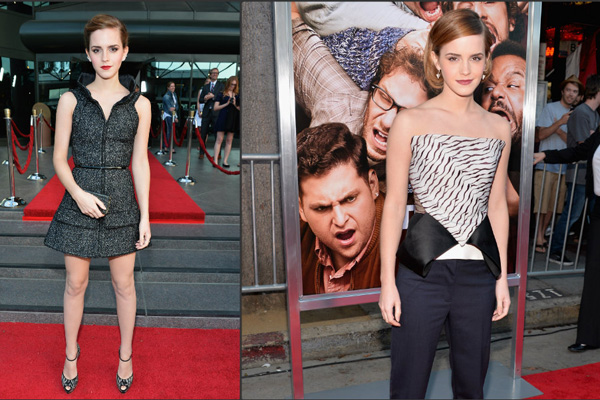 Emma Watson at 'Bling Ring' and 'This is the End' Premieres