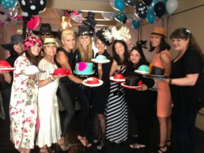 Heidi Klum & friends at her bday party