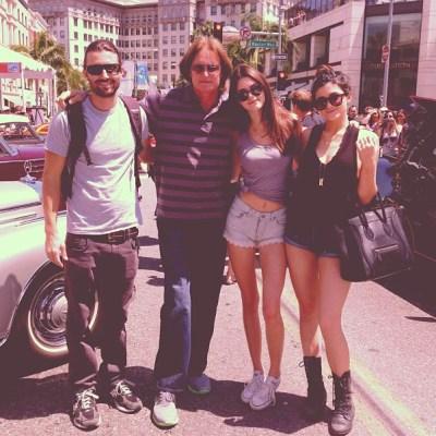 Brandon, Bruce, Kendall & Kylie Jenner