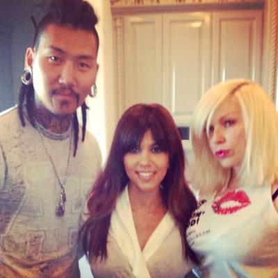 Kourtney Kardashian glam squad