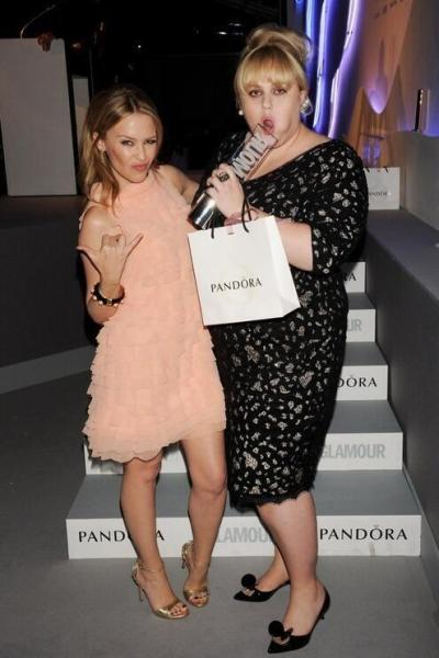 Kylie Minogue & Rebel WIlson