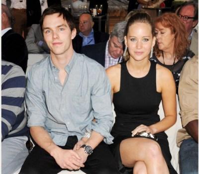 Nicholas Hoult & Jennifer Lawrence