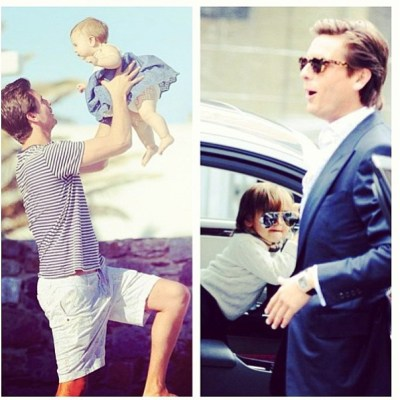 Scott Disick and family