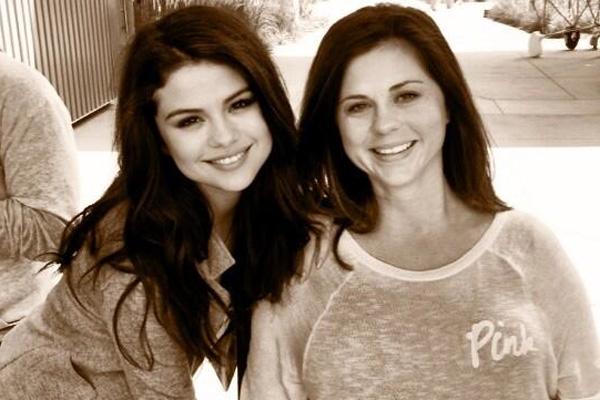Selena Gomez and mom