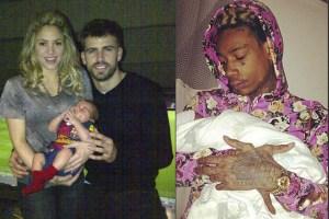 Shakira, Gerard Pique, Wiz Khalifa