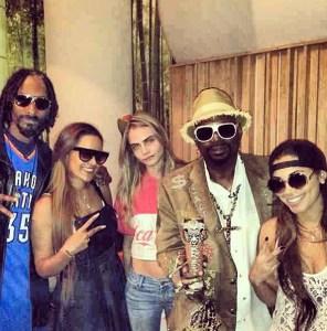 Snoop Dogg, Cara Delevingne & Friends