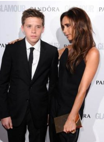 Victoria & Brooklyn Beckham