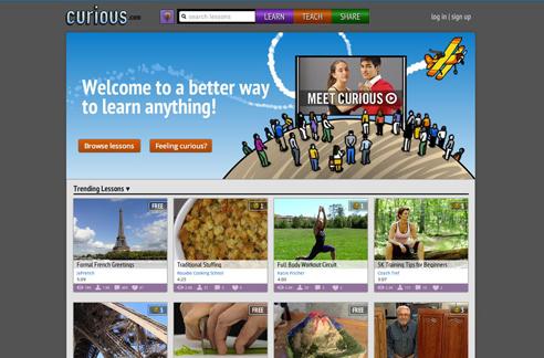 curious website