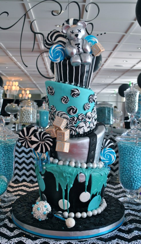 Fergie Baby Shower cake