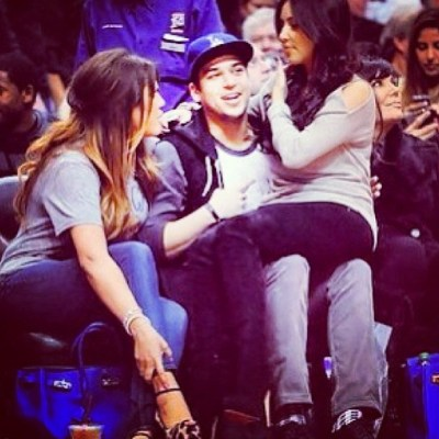 Khloe, Rob & Kim Kardashian