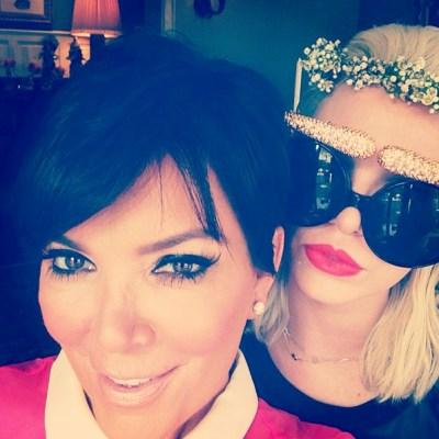 Kris Jenner & Joyce Bonelli