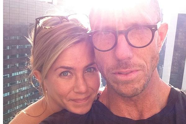 Jennifer Aniston & Chris McMillan
