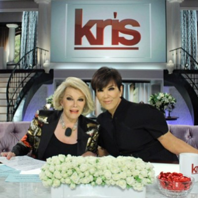 Joan Rivers & Kris Jenner