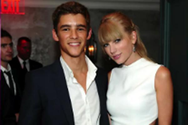 Brenton Thwaites & Taylor Swift