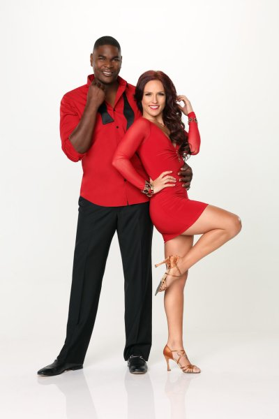 Keyshawn Johnson & Sharna Burgess