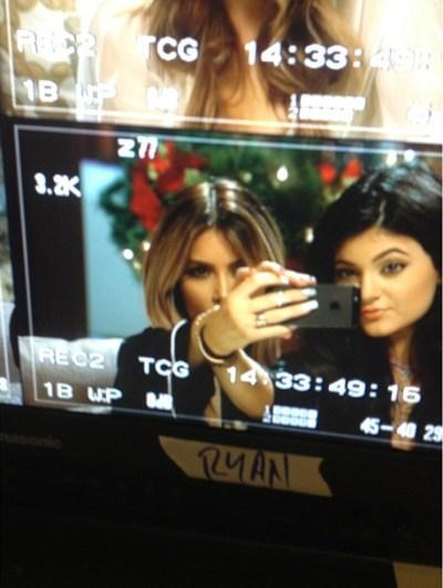 Kim Kardashian & Kylie Jenner