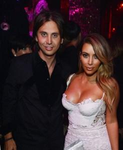 Jonathan Cheban & Kim Kardashian