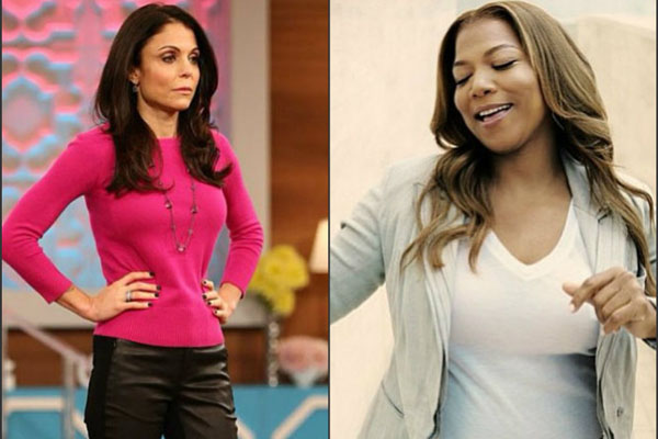 Bethenny Frankel & Queen Latifah