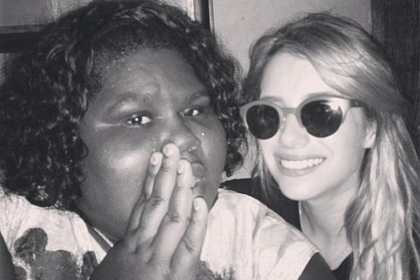 Gabourey Sidibe & Emma Roberts
