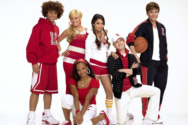 CORBIN BLEU, ASHLEY TISDALE, MONIQUE COLEMAN, VANESSA HUDGENS, LUCAS GRABEEL, ZAC EFRON