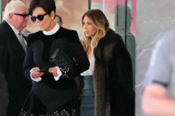 Kris Jenner & Kim Kardashian