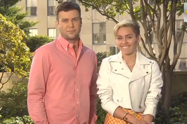 Taran Killam & Miley Cyrus
