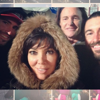 Brody, Kris, Bruce & Brandon Jenner