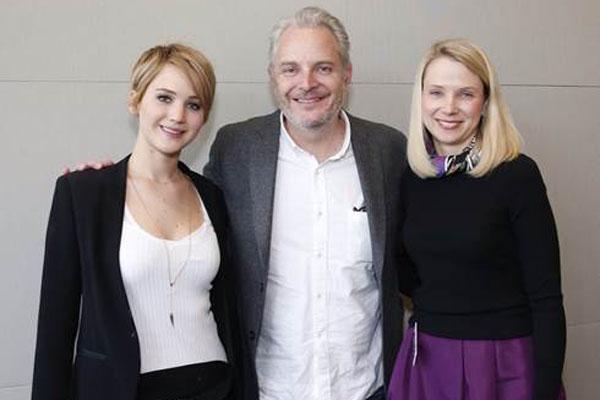 Jennifer Lawrence, Francis Lawrence & Marissa Meyer