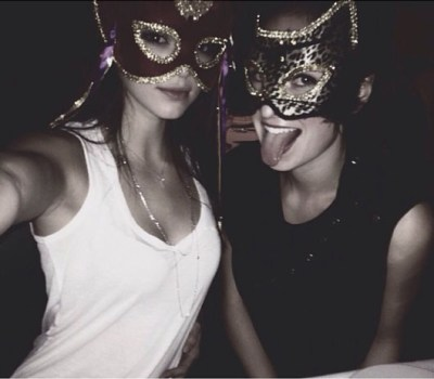 Kendall Jenner & friend