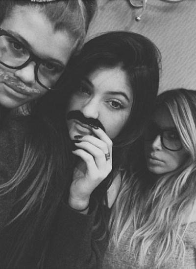 Kendall Jenner, Kylie Jenner & Kim Kardashian