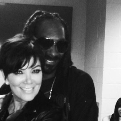 Kris Jenner & Snoop Dogg