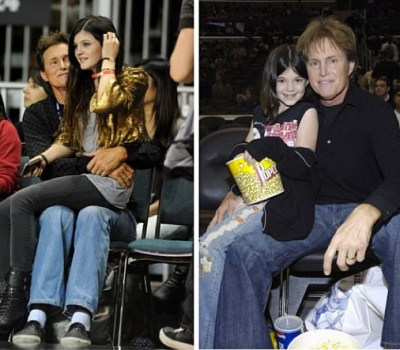 Kylie & Bruce Jenner
