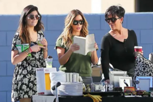 Kylie Jenner, Kim Kardashian & Kris Jenner