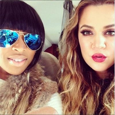Malika Haqq & Khloe Kardashian