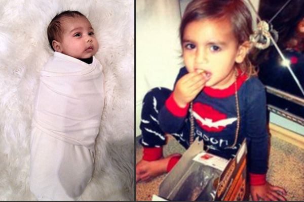 North West & Mason Disick