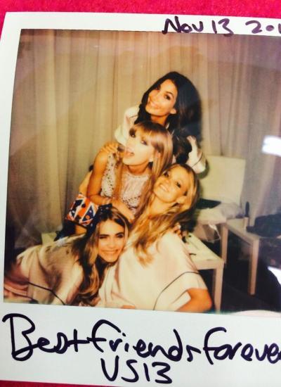 Cara Delevingne, Taylor Swift, Lily Aldridge & Erin Heatherton