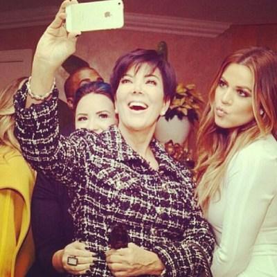 Demi Lovato, Kris Jenner & Khloe Kardashian