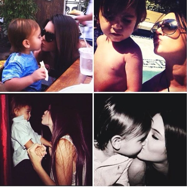 Mason Disick & Kendall Jenner