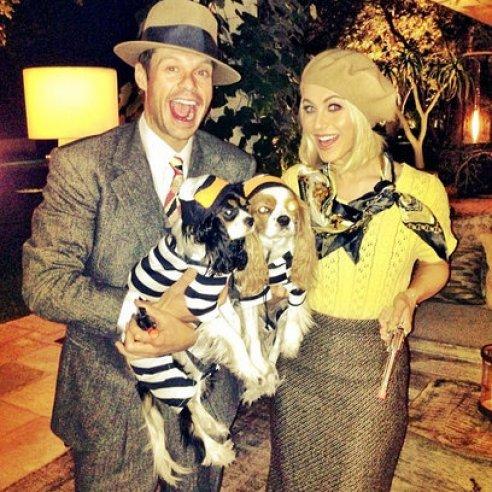 Ryan Seacrest & Julianne Hough