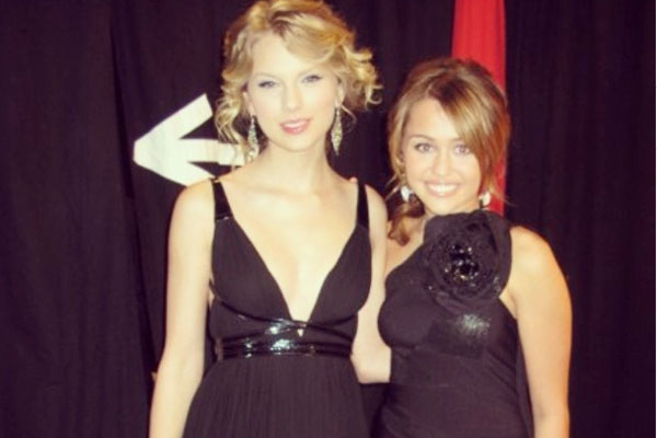 Taylor Swift & Miley Cyrus