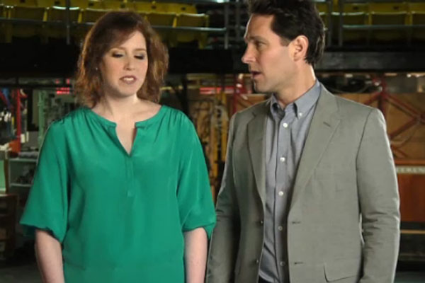 Vanessa Bayer & Paul Rudd